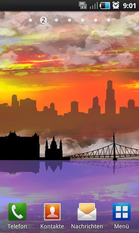 Skyline Scene LITE - screenshot