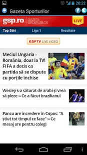 Sport Romania - screenshot thumbnail