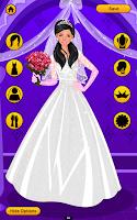 Screenshot of Wedding Dress Up Game