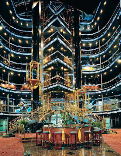 Carnival-Fascination-Grand-Atrium - The Grand Atrium of Carnival Fascination.