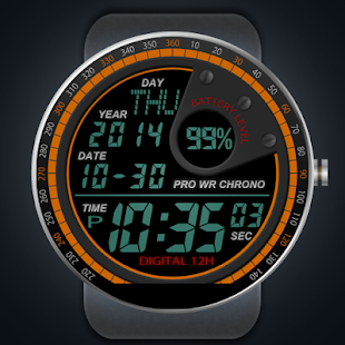A40 WatchFace for Moto 360 - náhled