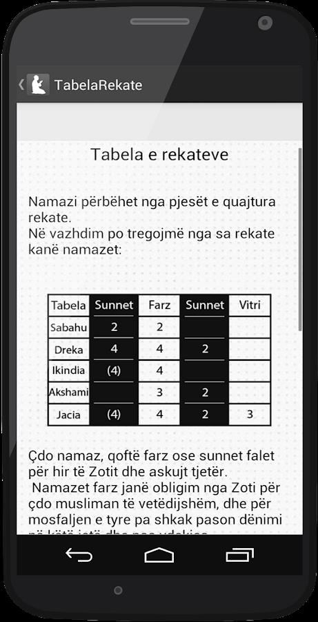 Namazi - Shqip - screenshot