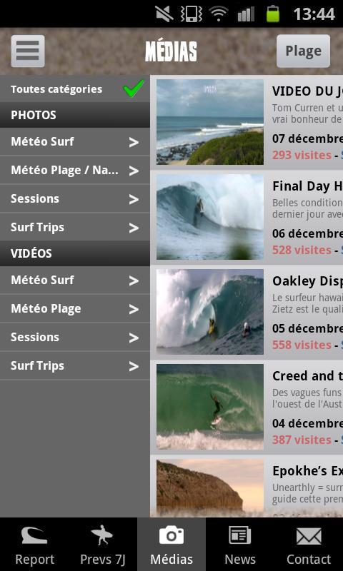 Lacanau Surf Info- screenshot