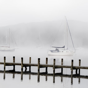 Early Morning in Amble by John Ash - Landscapes Travel ( windermere, amble, lake district, early morning, mist )
