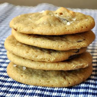 Dark Chocolate Cashew Sea Salt Cookies