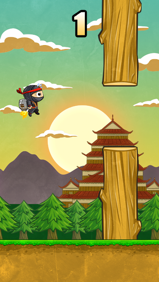 Jet Ninja- screenshot