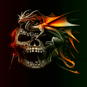 Dragon Skull Live Wallpaper