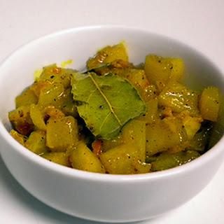 Green Papaya chutney – Achali ya papai bichi