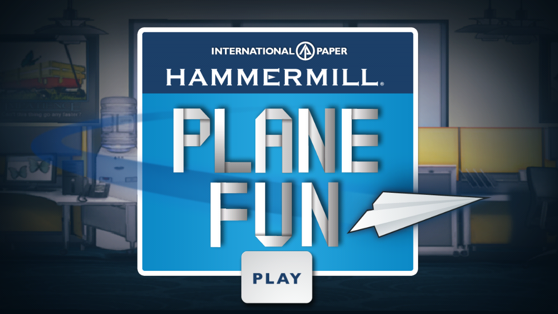 Hammermill Plane Fun- screenshot