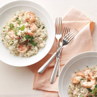 Shrimp-and-Herb Risotto.