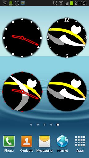 Mundo Capoeira Analog Clock