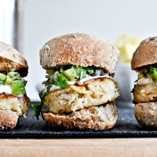 Crab Cake Sliders.