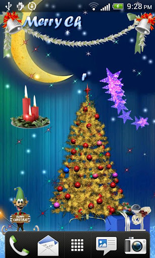 Xmas 3D Live Wallpapers Free