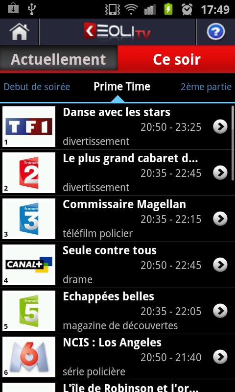 Keoli TV Guide - screenshot