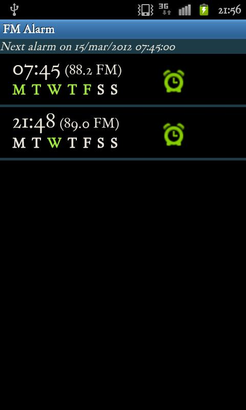 Alarm Clock (FM) Radio- screenshot