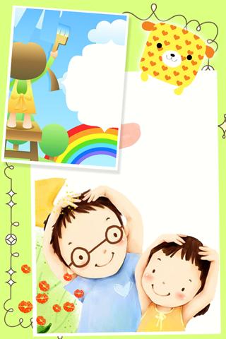 kids cute frames screenshots