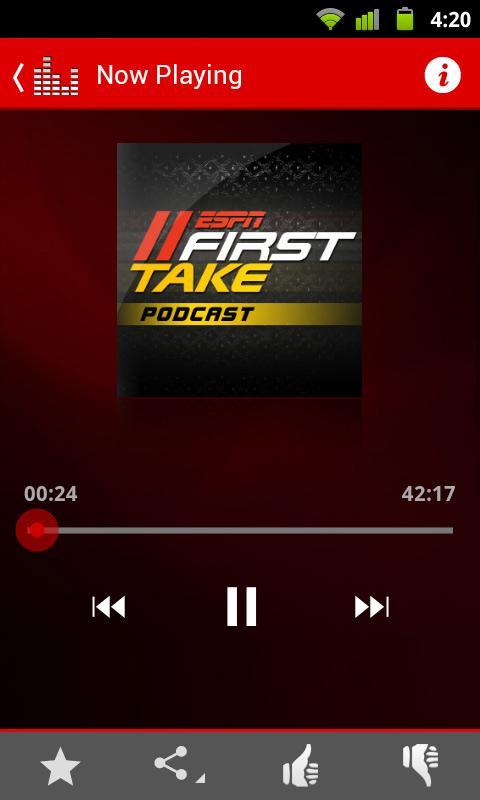 ESPN Radio screenshot #4