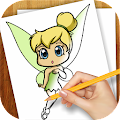 Download Android Game Learn to Draw Fairies for Samsung