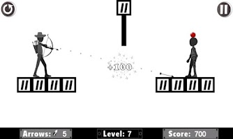 Screenshot of Dark Man Apple Shooter Archery