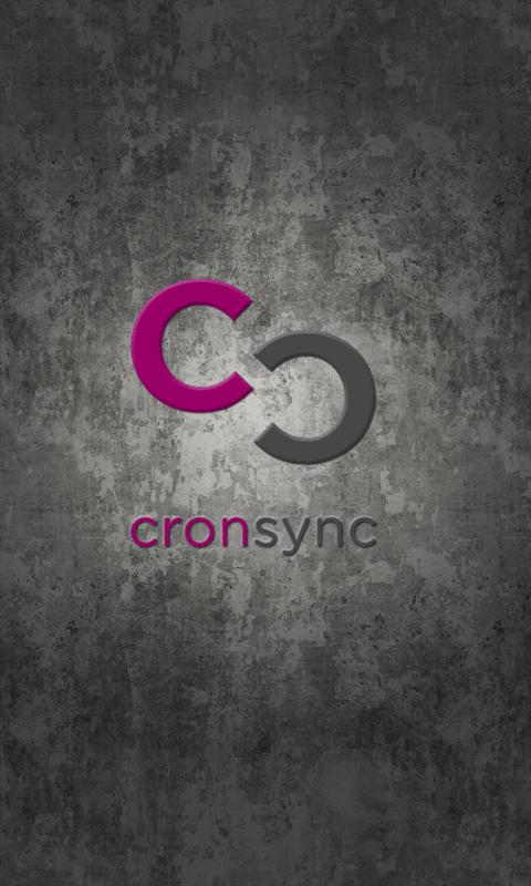 cronsync- screenshot