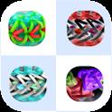 Loom Band Matcher Rainbow Fun icon