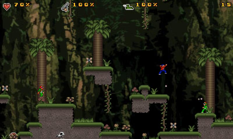 Jungle Mayhem- screenshot