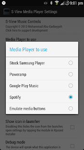 S-View Music Controls [Xposed] - screenshot thumbnail