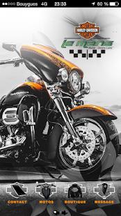 Harley-Davidson Le Mans - náhled