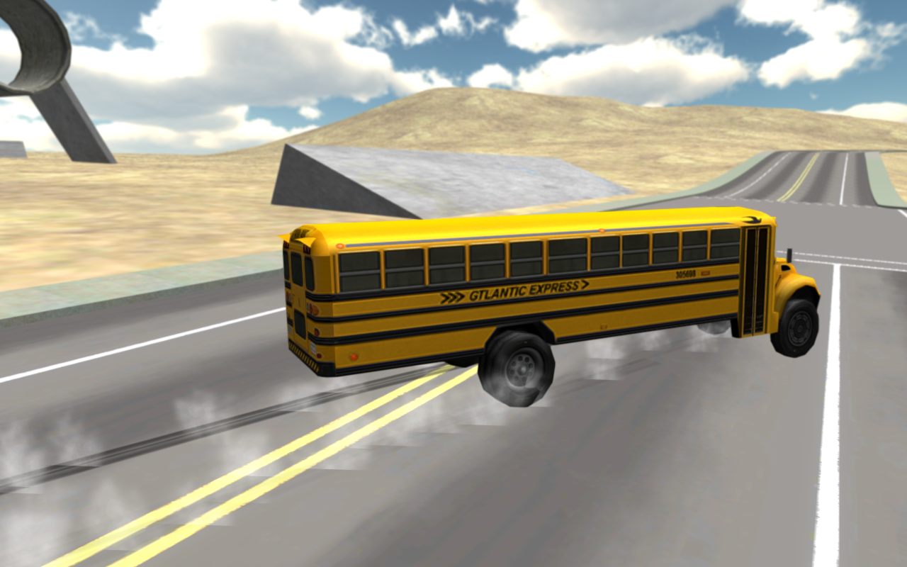 School Bus Driving 3D- screenshot