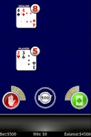 Screenshot of Double Exposure Blackjack FREE