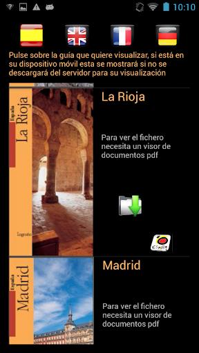Guías de Turismo de España
