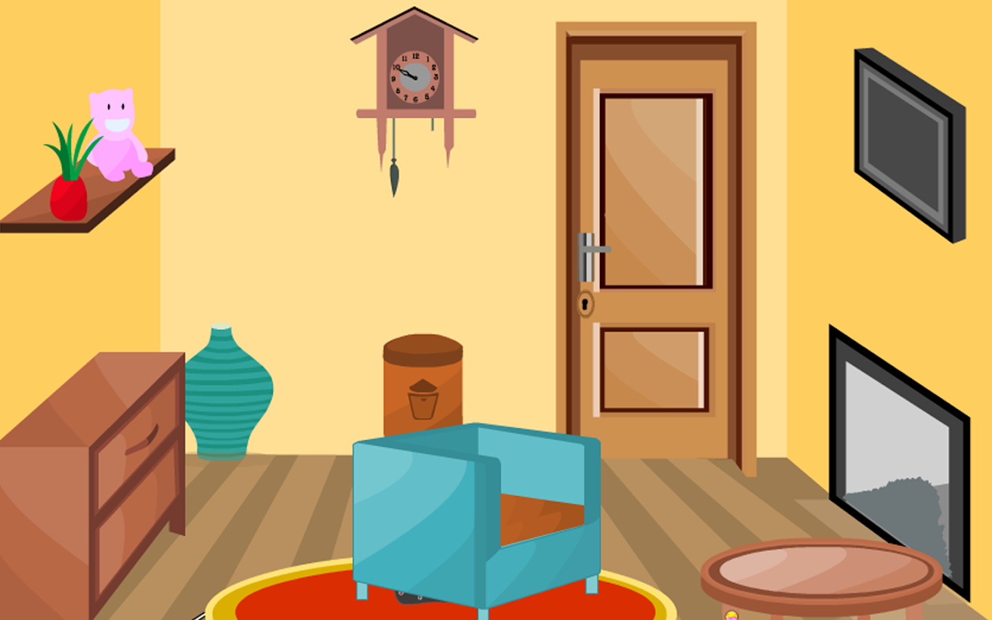 3d room escape puzzle livingroom 3 android apps on for Escape puzzle
