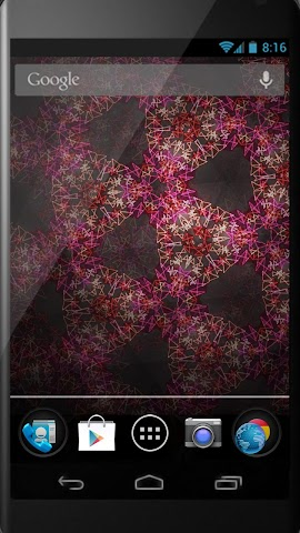 Screenshots for Kaleidoscope LiveWallpaper
