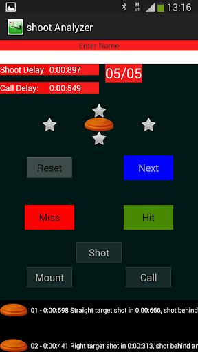 Clay Shooting Analyzer