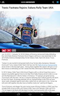 Subaru Motorsports - screenshot thumbnail