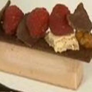 Chocolate Custard Cream With Spiced Raspberries
