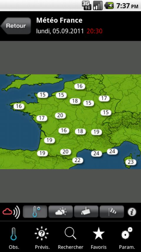 MeteoNews+ - screenshot