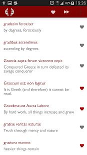 Latin Phrases: Huge Collection - screenshot thumbnail