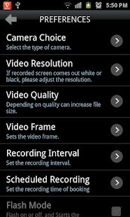 Smart Spy Video Recorder Full - screenshot thumbnail