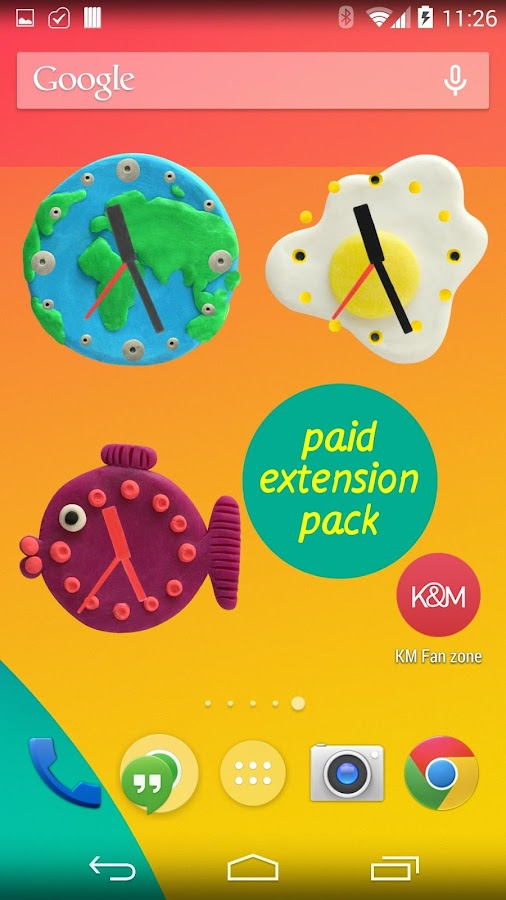 KM Plasticine widgets - screenshot