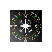 Translucent Compass 3D