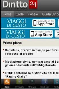 News Diritto - screenshot thumbnail