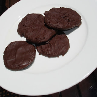 Gluten-Free Chocolate Mint Cookies.
