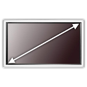 TV Screen Size Calculator