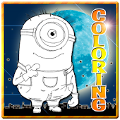 Coloring Despic Me Kids Games