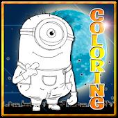 Coloring Despic Me Kids Games