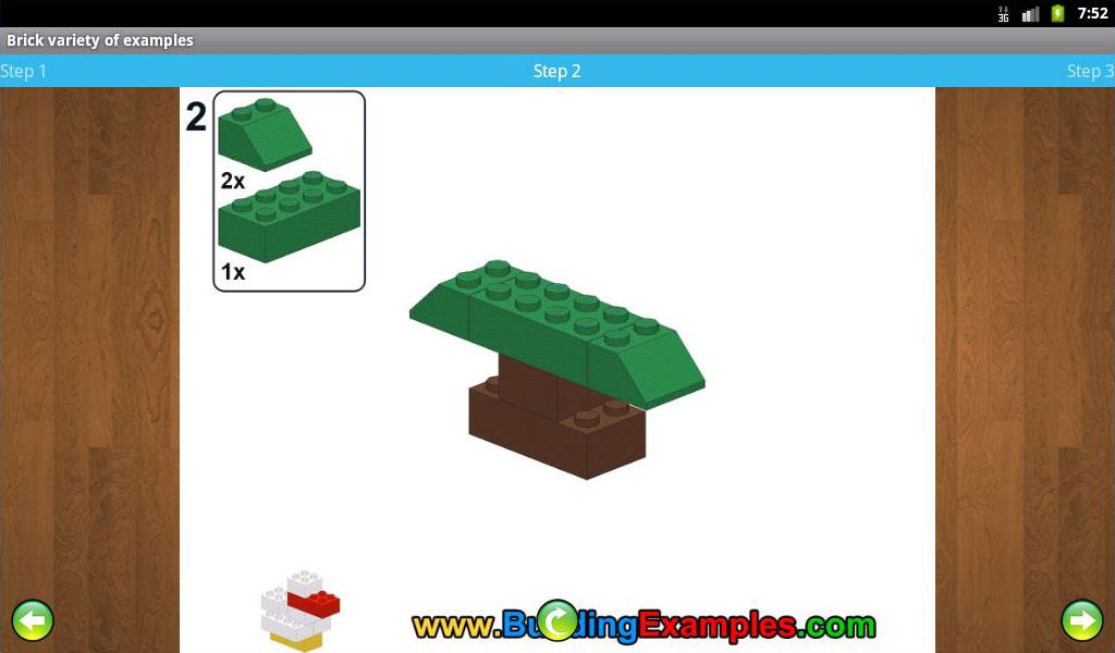 Brick variety of examples - screenshot