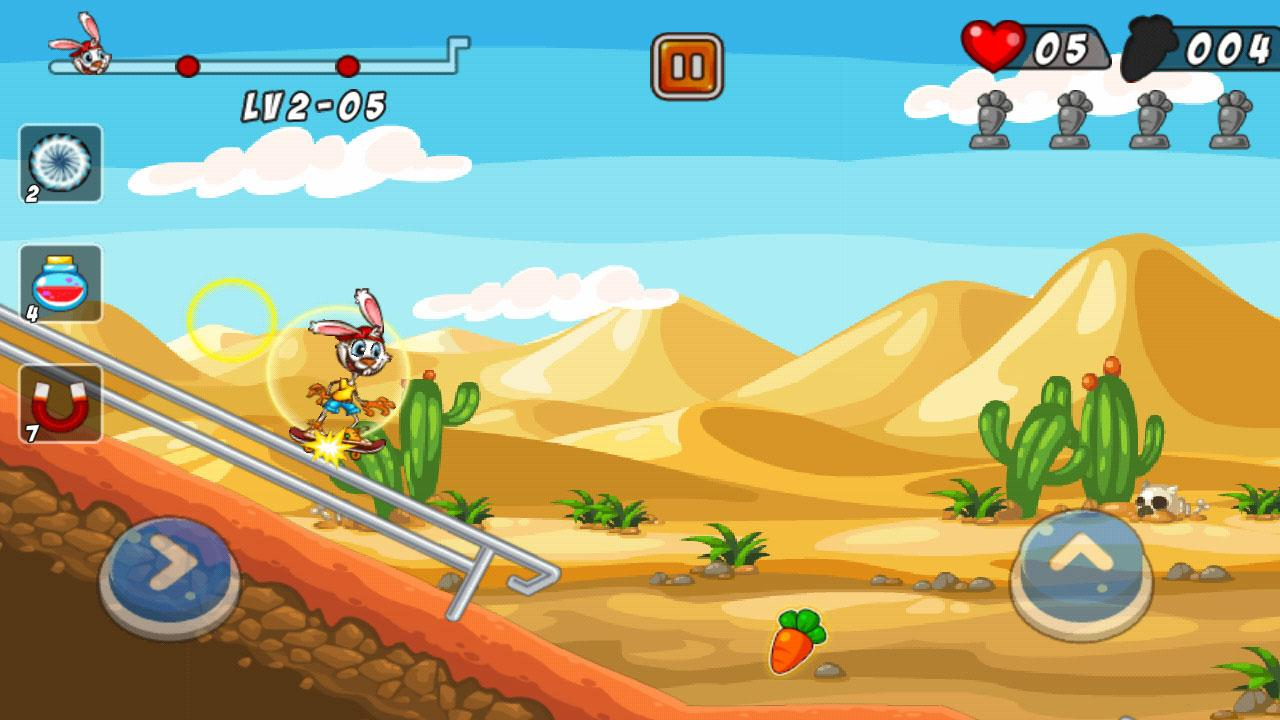 Bunny Skater- screenshot