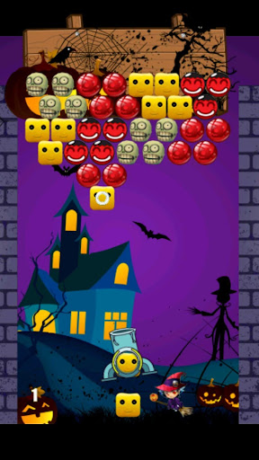 Witch Cube Bubble Shooter