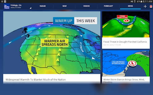 The Weather Channel - screenshot thumbnail